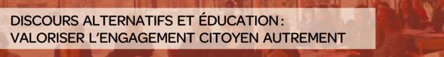 discours alternatif et education
