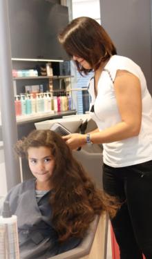 coiffer sa fille