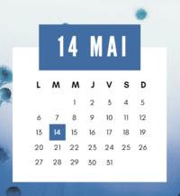 14 mai